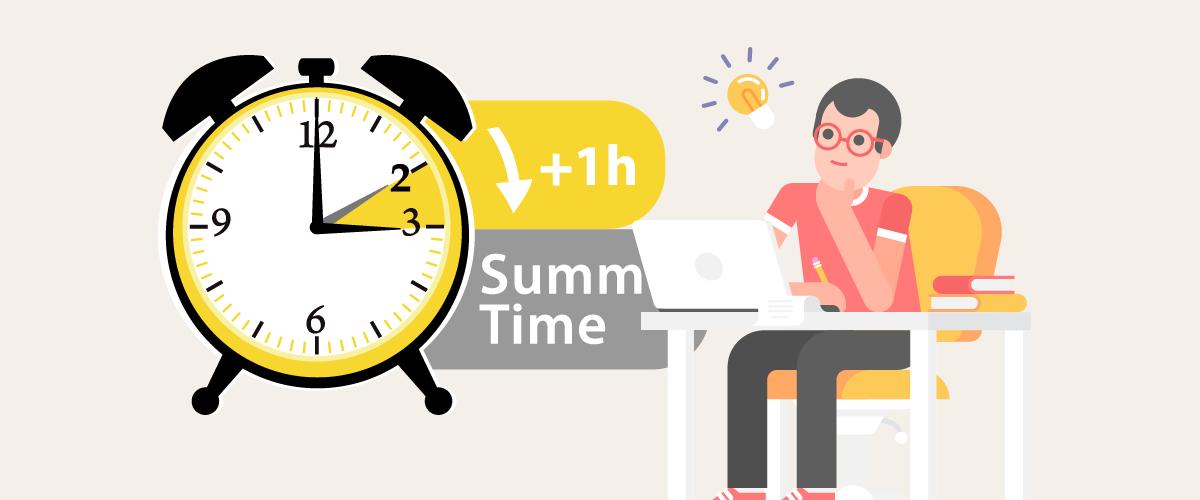 サマータイムによるFX取引時間の変化