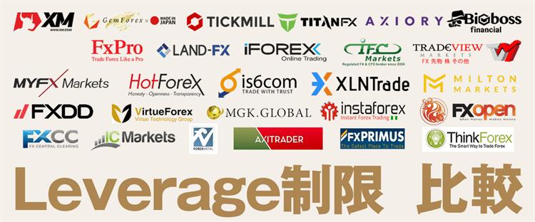 海外FXのレバレッジ制限