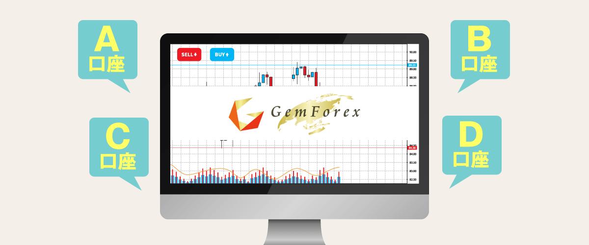GEMFOREXの追加口座を開設する手順と複数口座作成の注意点